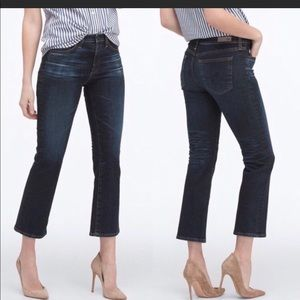 AG The Jodi Crop Flare-Leg Jeans, 2 Years